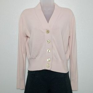 J. CREW Fitted Button Down Cardigan Sweater